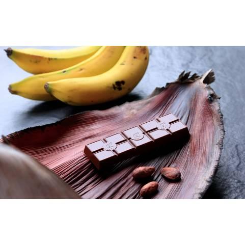 Barra Banano 70% cacao DAVIDA