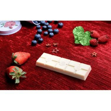 Barra Frutos Rojos y Chocolate Blanco DAVIDA