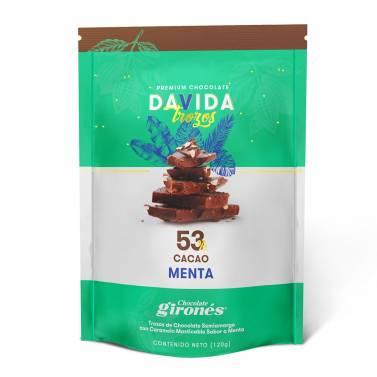 Trozos Menta 53% cacao