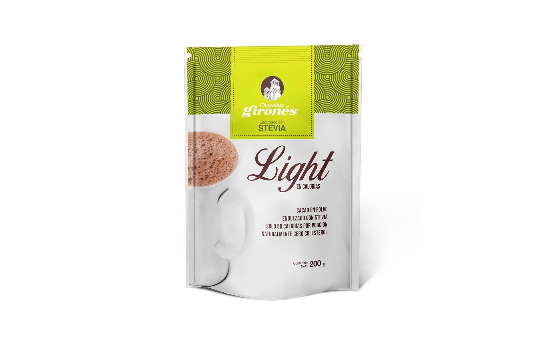Cacao en Polvo con Stevia Girones