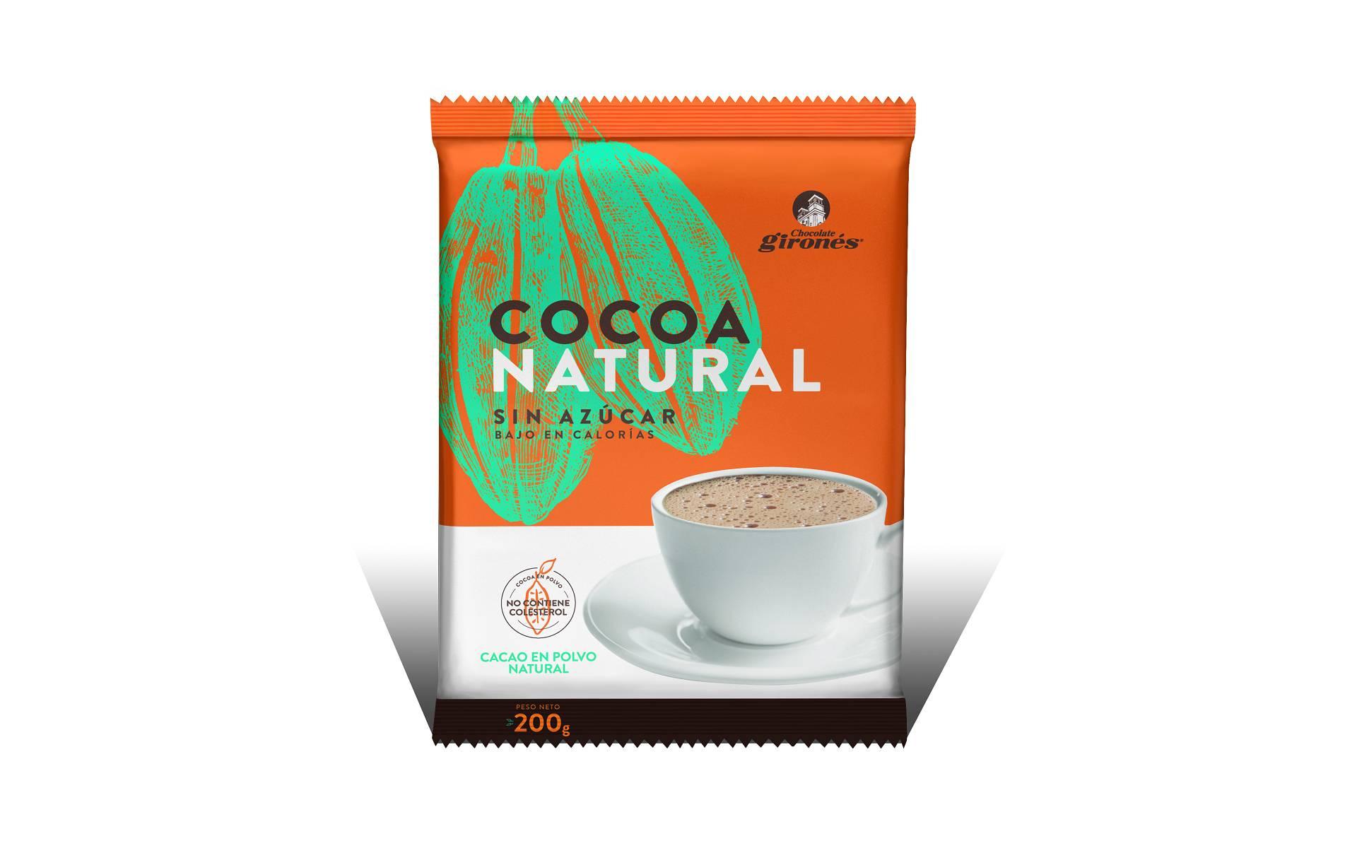 Cocoa Natural sin Azúcar Girones