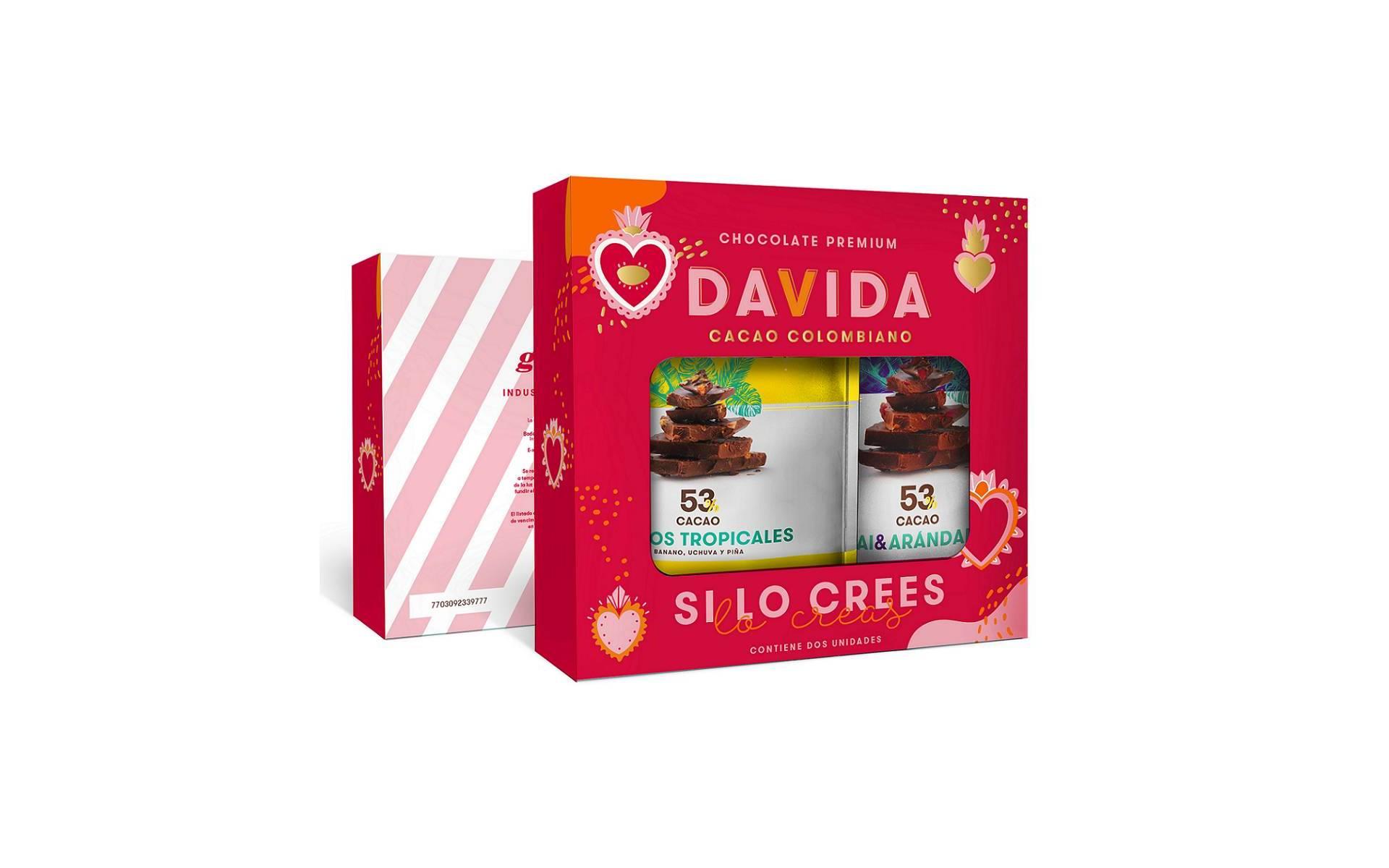 Caja Tipo Maletín x 2 Trozos Edición Especial DAVIDA