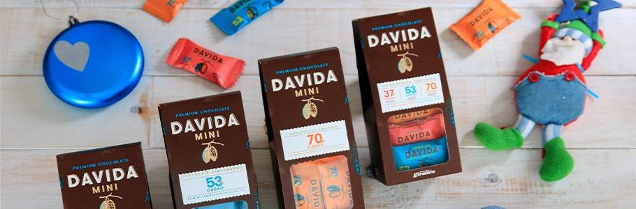 Mini Barras de Chocolate